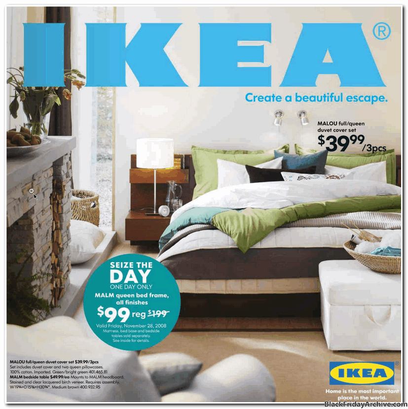 ikea 2008 black friday ad black friday archive black friday ads from the past. Black Bedroom Furniture Sets. Home Design Ideas