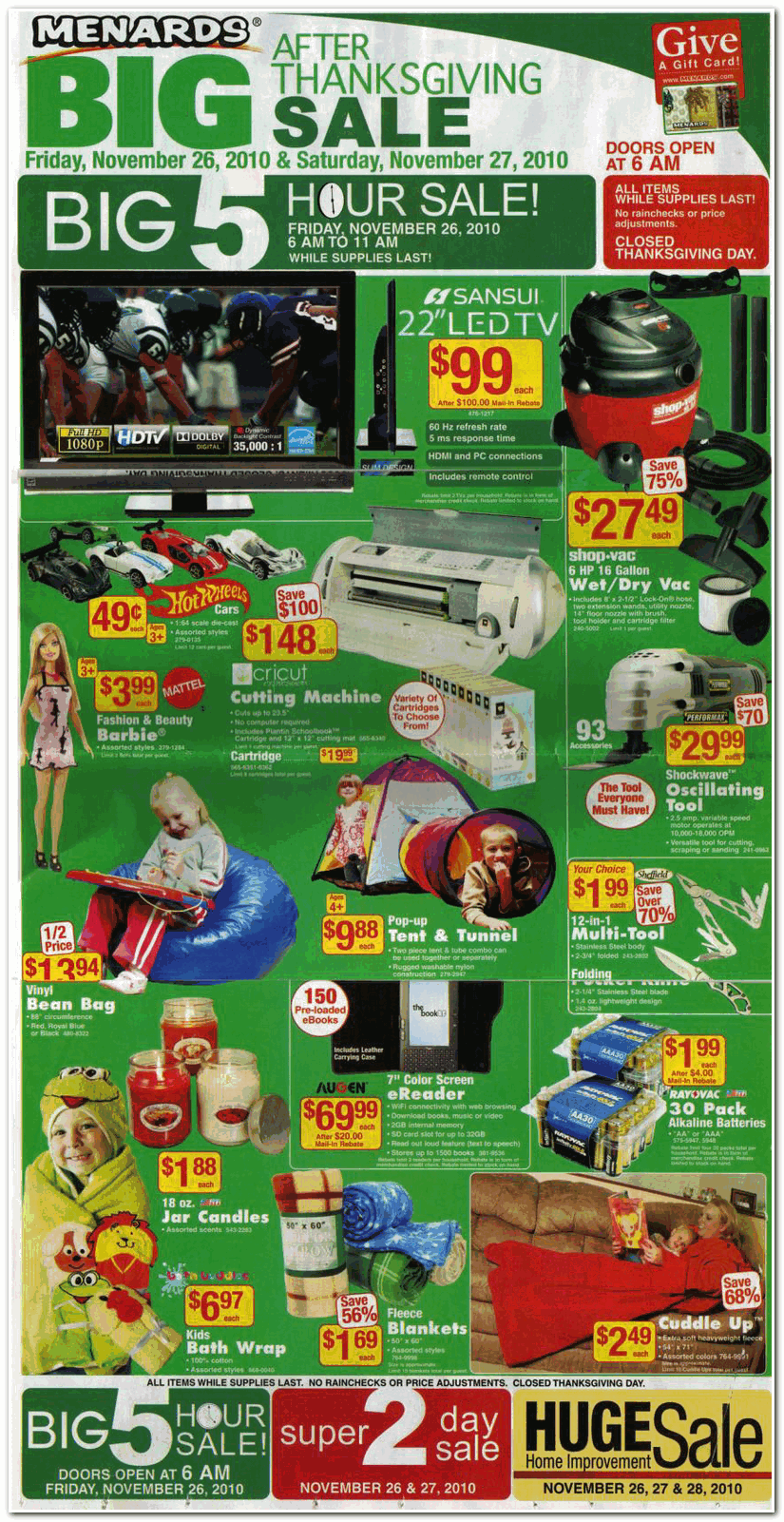 Uncategorized Black Friday Ad Menards menards 2010 black friday ad archive ad