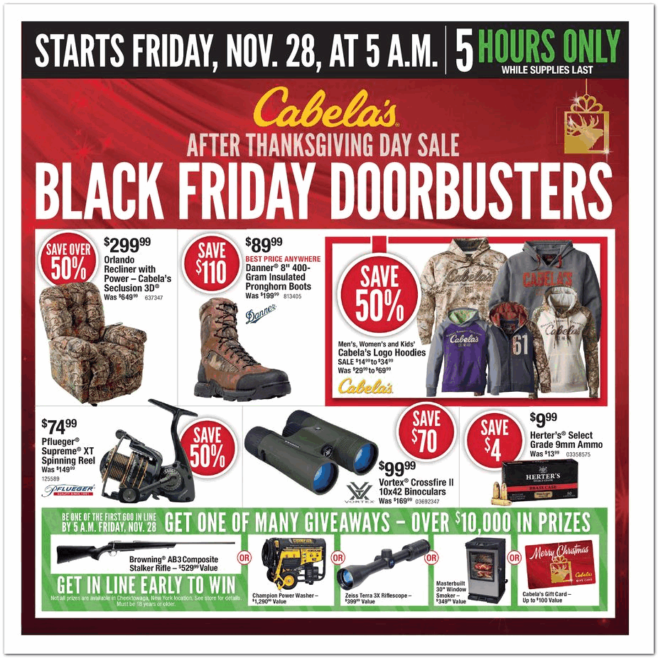 Toys From Cabela S : Cabela s black friday ad archive