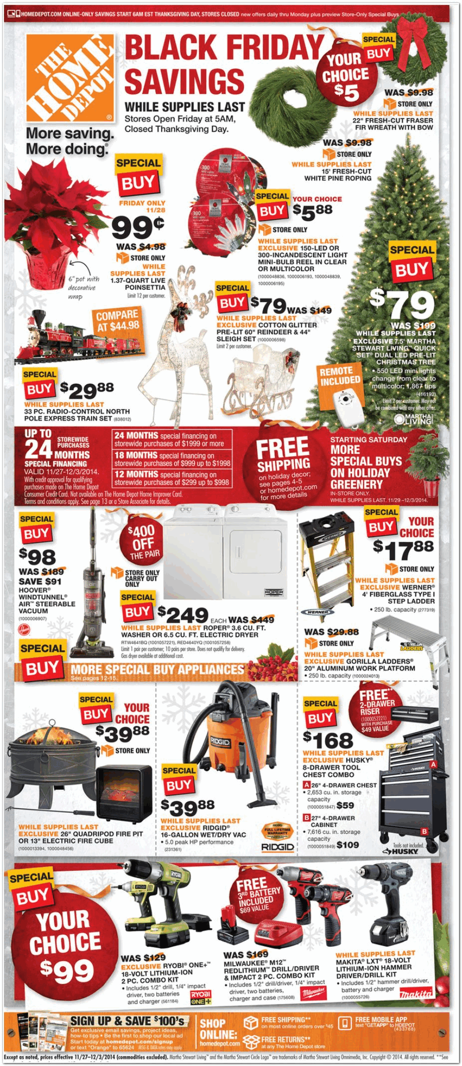 home depot 2014 black friday ad black friday archive black friday ads from the past. Black Bedroom Furniture Sets. Home Design Ideas