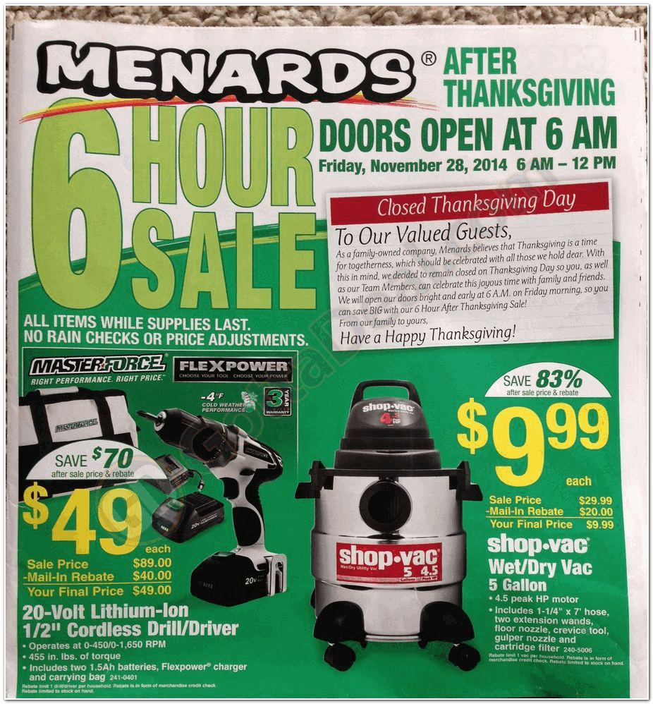 Uncategorized Black Friday Ad Menards menards 2014 black friday ad archive ads from the past