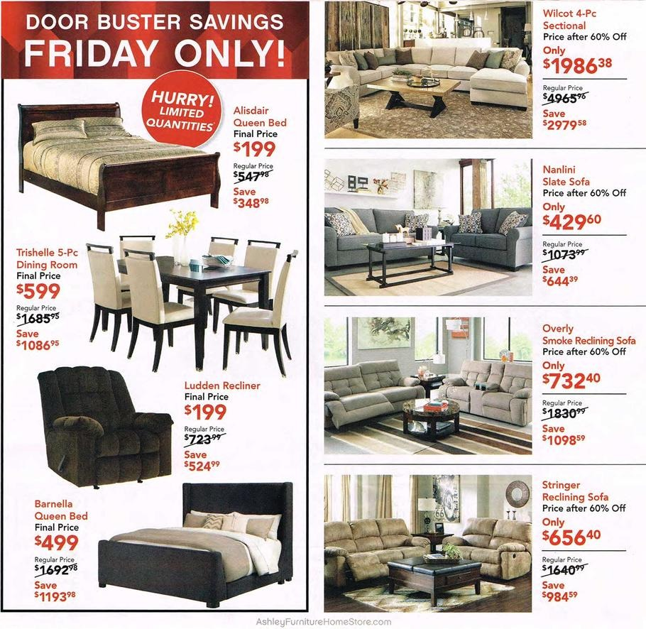 Ashley Furniture Black Friday Ads 2016: Ashley Furniture 2015 Black Friday Ad