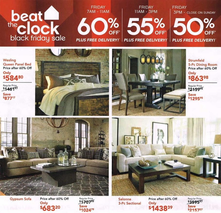Ashley furniture 2015 black friday ad black friday for Furniture year end sale 2017