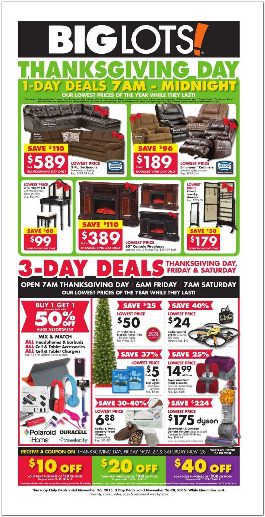Big Lots 2015 Black Friday Ad - Black Friday Archive - Black ...