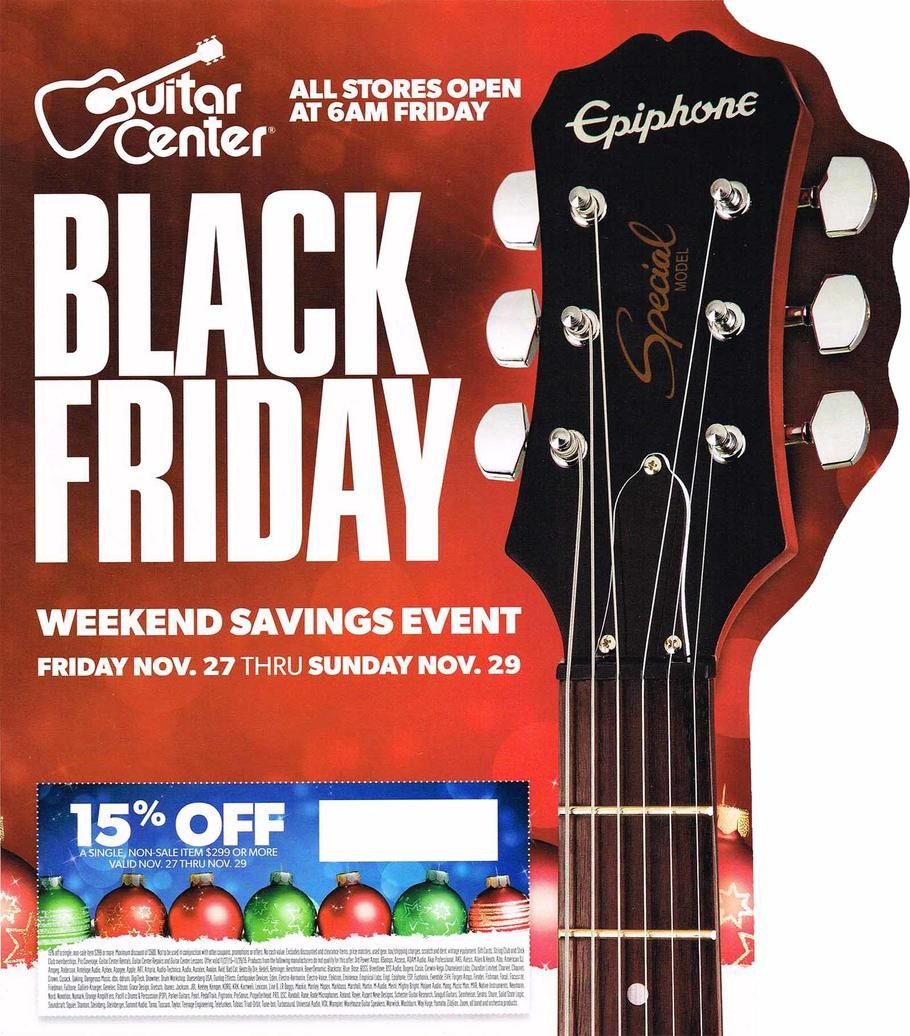 More About Guitar Center Coupons