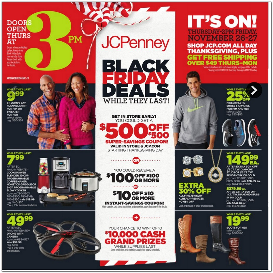 JCPenney 2015 Black Friday Ad - Black Friday Archive - Black ...