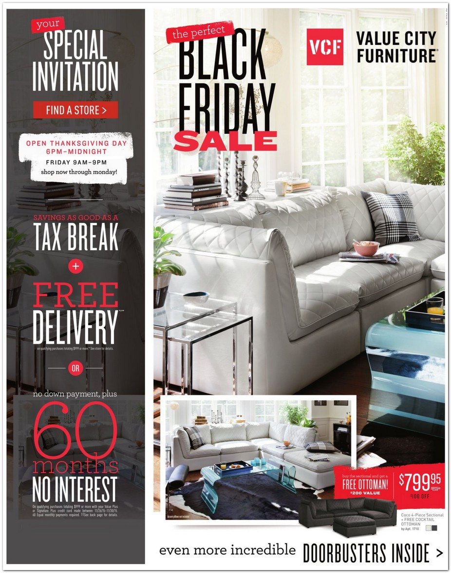 value city furniture 2015 black friday ad black friday