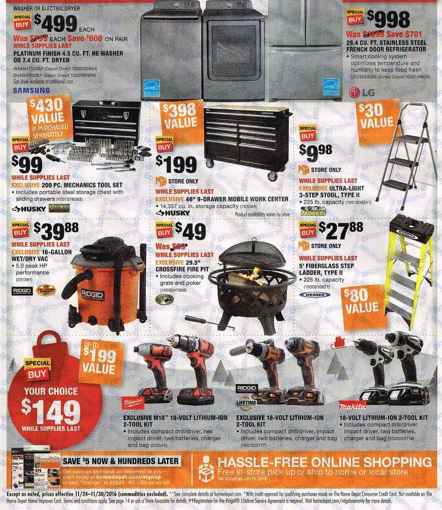 home depot 2016 black friday ad black friday archive black friday ads from the past. Black Bedroom Furniture Sets. Home Design Ideas