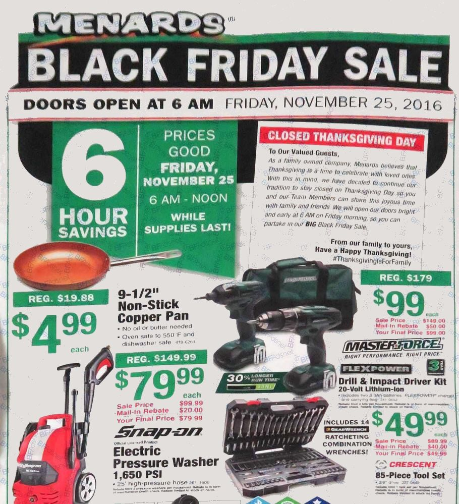 Uncategorized Black Friday Ad Menards menards 2016 black friday ad archive ad