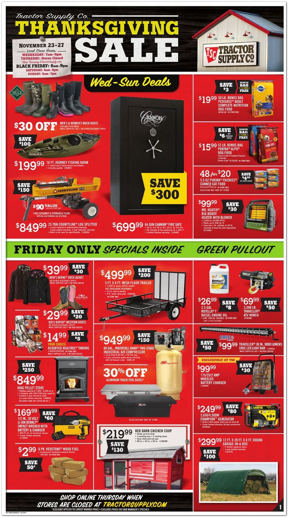 Shop Everyday Low Prices & Get Free Shipping To Your Local Tractor Supply Store!